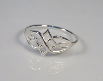 Infinity celtic knot ring, sterling silver ring, celtic ring, knot ring, infinity ring, infinity knot, celtic jewelry