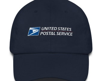 USPS Hat Embroidered United States Postal Service Gift for Postal Worker