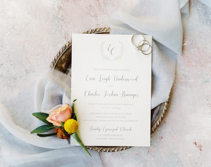 Featured listing image: Franklin Park Wedding Invitations