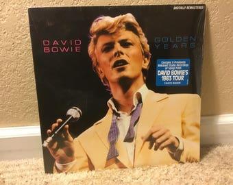 SEALED David Bowie Golden Years LP AFL1-4792