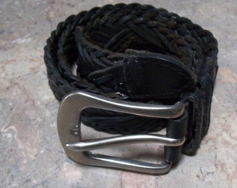 Fossil Gürtel-Leder Gürtel-Gürtel-Small Gürtel-Ledergürtel für Women-Girl Belt-Braided Gürtel geflochten Leder Gürtel