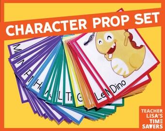 VIPKid 2-D Prop Set (57 Cards)