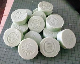 Coconut Milk & Rosemary Mint Soap  4-5 oz