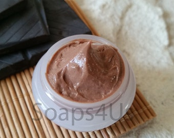 Chocolate Face Mask, Chocolate Silky Facial Mask, Dark Chocolate Natural Face Mask, Chocolate Nourishing and Moisturizing Facial Mask.
