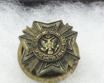 VFW malta cross pin, cross of malta, VFW Maltese cross, veterans cross lapel, VFW tie tack, military pin, gift for grandpa, for dad, TheOSB