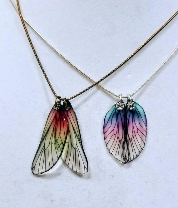 Best Friend Dragonfly Wings - 2 Necklaces