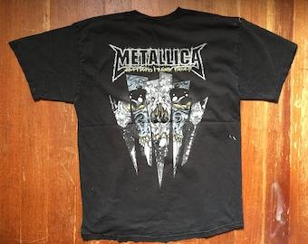 """METALLICA """"Am I Who I Think I Am"""" PUSHEAD T-Shirt / Metal Tee / Band Tee"""