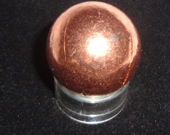 Copper 30MM Solid Spheres For Therapeutic and Metaphysical Meditation