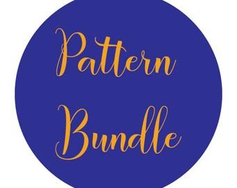Pattern Bundle, Accessory knitting, pattern only, digital download, knitting patterns, Intermediate knitting, diy knit, diy knit pattern