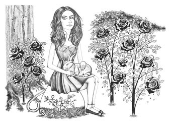 Alice  - 11 x 14 in print