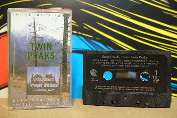Soundtrack From Twin Peaks (RARE Canadian Pressing) by Angelo Badalamenti Vintage Cassette Tape