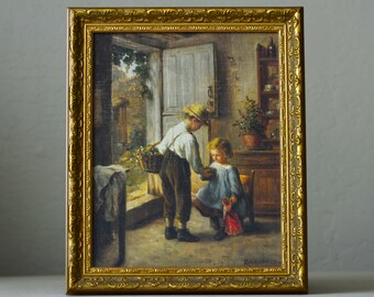 Vintage, Home & Garden Party , Boy and Girl