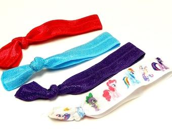 My Little Pony Hair Tie Set