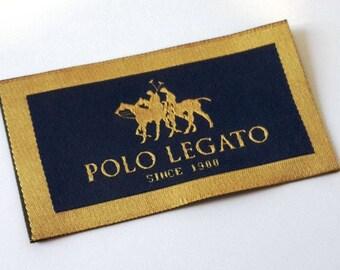 1000pcs  Custom HD Quality (Damask) Woven Label,Product label,Garment label,Packing,Quality woven label,Tight weaving