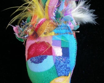 ART DOLL  Soft sculpture, Stuffie, Decor, Cirque du Soleil,  Nouveau Cubisme   Dollmakers,  paganteam, WWWG, SupportingArtists, OlympiaEtsy,