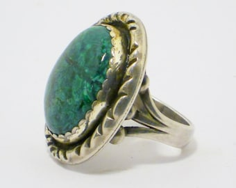 Vintage Native American Marcasite Ring, Jewelry, Mens, Size 10
