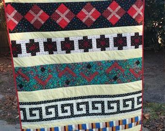Seminole Quilt Wall Hanging