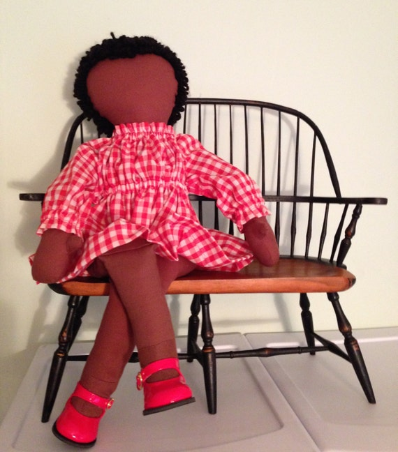 Delightful Doll Dress Pattern™,  PDF,    Make blouses and nightgowns too.  Variations are unlimited using different fabrics and trimmings.