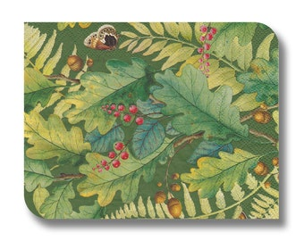 Woodland paper napkin for decoupage x 1 Oak Tree. No 1278