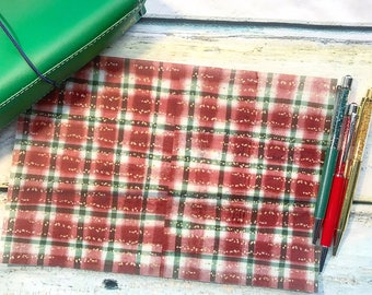 Christmas Blanket: Vellum TN Covers/Dashboards