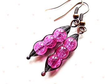 cute wire wrapped earrings tutorial - easy tutorial for beginners - wire wrappping tutorials -  tutorial II