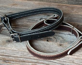 Leather Slip Collar