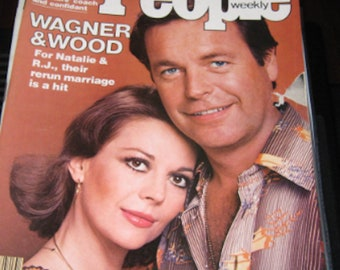 Natalie Wood and Robert Wagner on PEOPLE Dec. 13, 1976