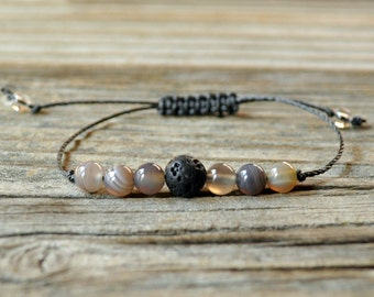 Diffuser Bracelet, Botswana Bracelet, Beaded Diffuser, Essential Oils, Oil Diffuser, Yoga Bracelet, Meditation Bracelet, Healing Bracelet