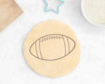 Football Cookie Cutter – Football Helmet Cookie Cutter Rugby Cookie Cutter American Football Gift Sports Cookie Cutter Rugby Ball Gift