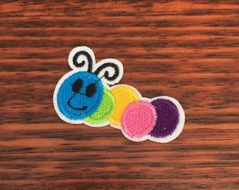 Caterpillar - Iron on Appliqué Patch