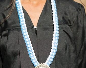 Money Lei, Graduation Ribbon Lei, Braided Stole, Single Braid Money Lei, Folded Dollars, Graduation Necklace, Birthdays