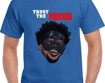 Trust The Process Joel Embiid Philadelphia Basketball T Shirt