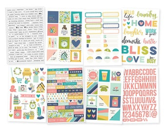 SALE Simple Stories Domestic Bliss Stickers