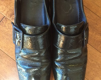 Vintage Patent Leather Loafers made in Canada
