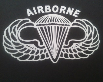 Airborne Decal , Show your Pride