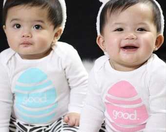 Good Egg Bodysuit - Baby Easter Outfit - Easter Egg Bodysuit - Baby Easter shirt - Baby Boys Easter Outfit - Baby Girls Easter Outfit - Egg
