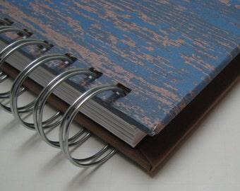 Blank Journal - Journal - Prayer Journal - Daily Journal - Lined Journal - Wire Bound Journal - Diary - Sketchbook - Notebook - Masculine