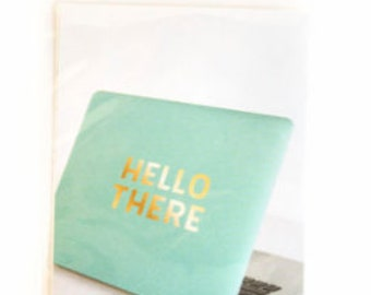 Hello There Vinyl Decal Sticker By Recollections