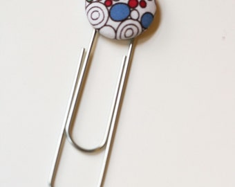 Two Large Paper Clip Bookmark