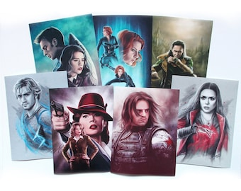 Avengers photo prints - various pictures!