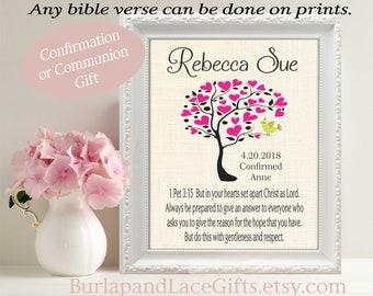 Confirmation Gift for Girl - Goddaughter Granddaughter Daughter Niece Sister Confirmation  -conf201g