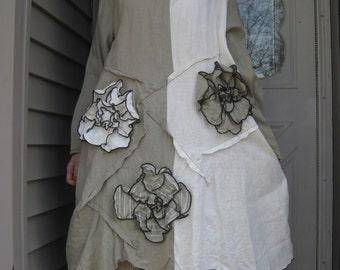 Wavy Flower Tunic