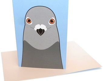 Pigeon (A6 greeting card)