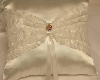 Wedding Ring Pillow - Ring Bearer Pillow