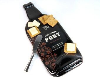 Melted Bottle Cheese Tray Terra D'oro Zinfandel Port, Red Wine Gift, Hostess Housewarming Present