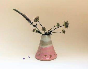Vase. ceramic vase. ceramic pot. small pot. Handmade pottery. small ceramic vase. handmade flower vase. ceramics.ceramic.glazed pottery vase