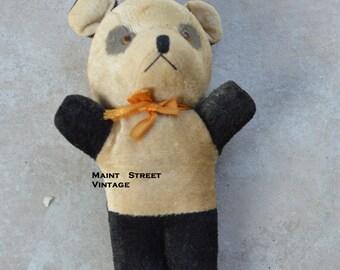 Rare Panda Bear Stuffed Toy with Squeaker