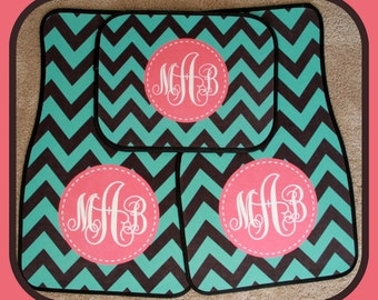 Car Mats Monogrammed Gifts Personalized Custom Car Mats Cute Car Accessories For Women Car Mat Monogram Gift Ideas Mothers Day Car Decor