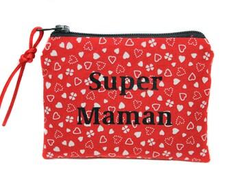 Slotscoin MOM - mother's day, birthday, fabric, women gift, gift for her little case