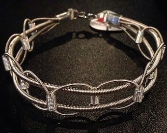 Riplee Design Guitar String Bracelet